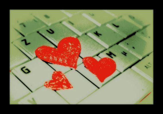 Herzlichkeit im Datenstrom.