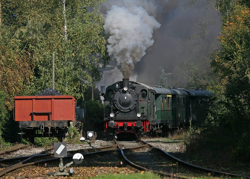 Hespertalbahn - Mit Volldampf zur alten Zement Fabrik