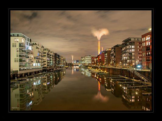 Hessische Impressionen - Frankfurt am Main - Westhafen
