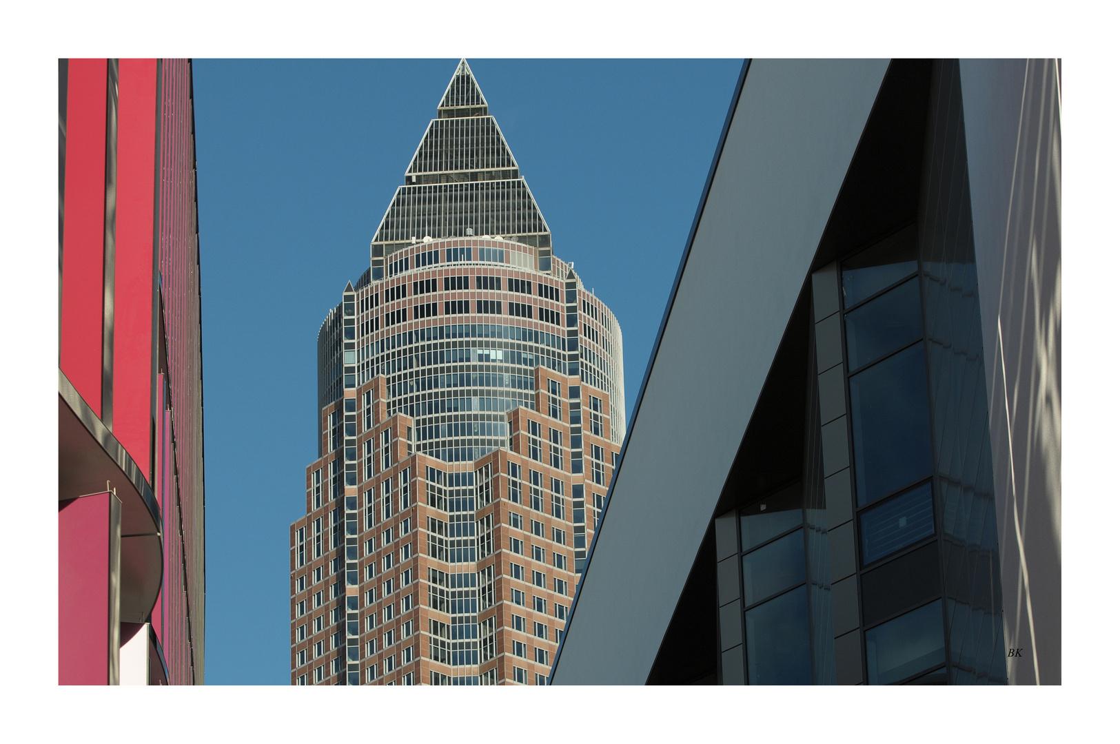 Hessische Impressionen - Messeturm Frankfurt am Main