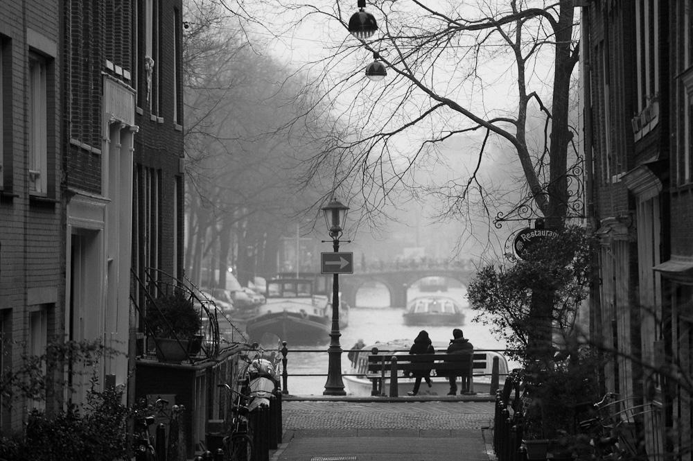 het nieuwjaar in Amsterdam
