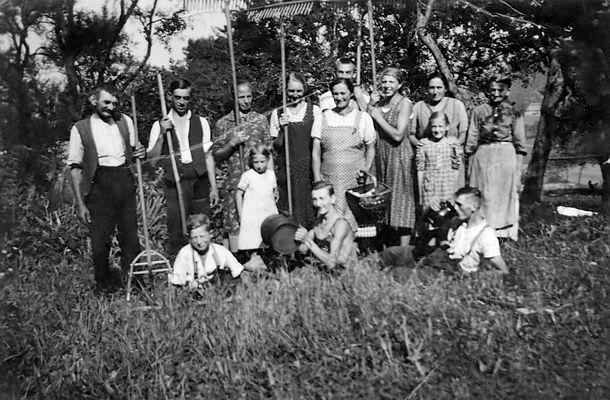 Heuernte in Ternberg 1938