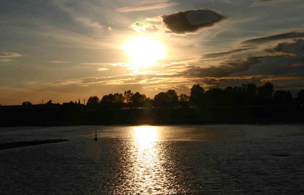 Heute Abend am Fluss