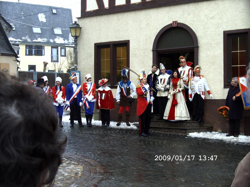 Heute am Runkler Schloßplatz (2)