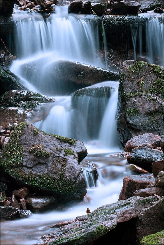 heute am Sankenbachwasserfall