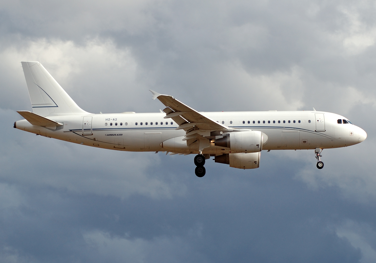 Heute auch in Köln/Bonn: privater Airbus 320