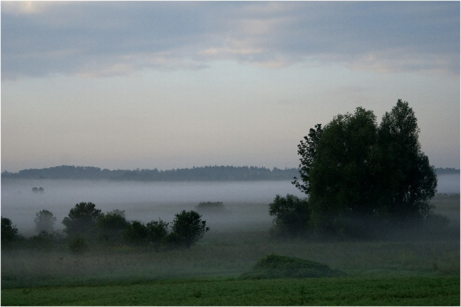 Heute früh: 05.59 h wenn sich Nebel bildet...