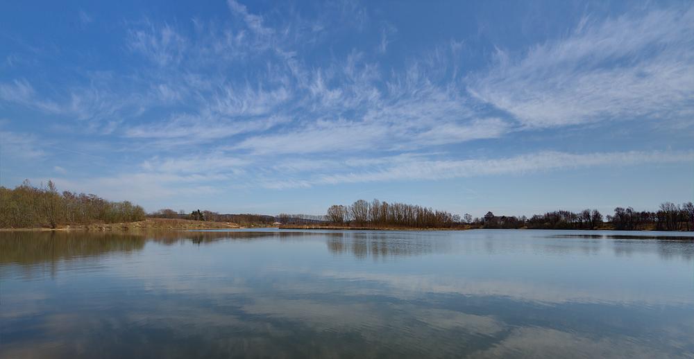 Heute früh am Hartigsee