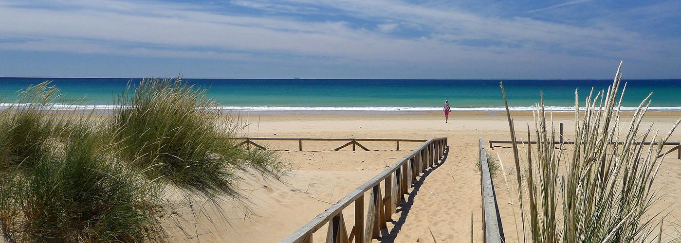 Heute gehört der Strand mir!