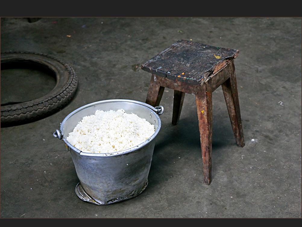 heute gibt's Reis