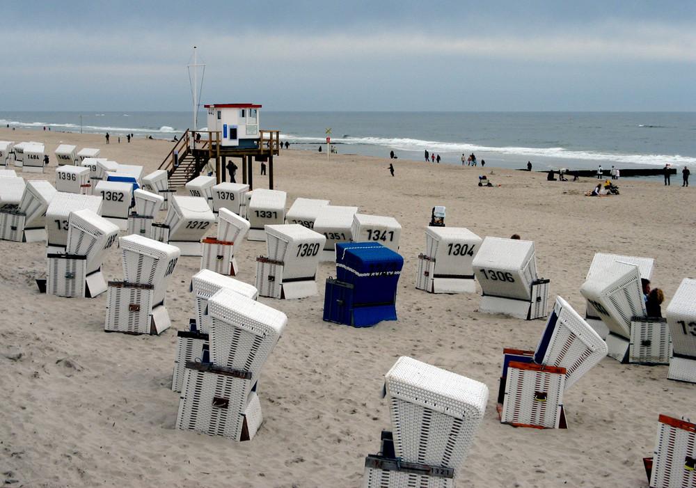 ... heute ist kein Strandwetter