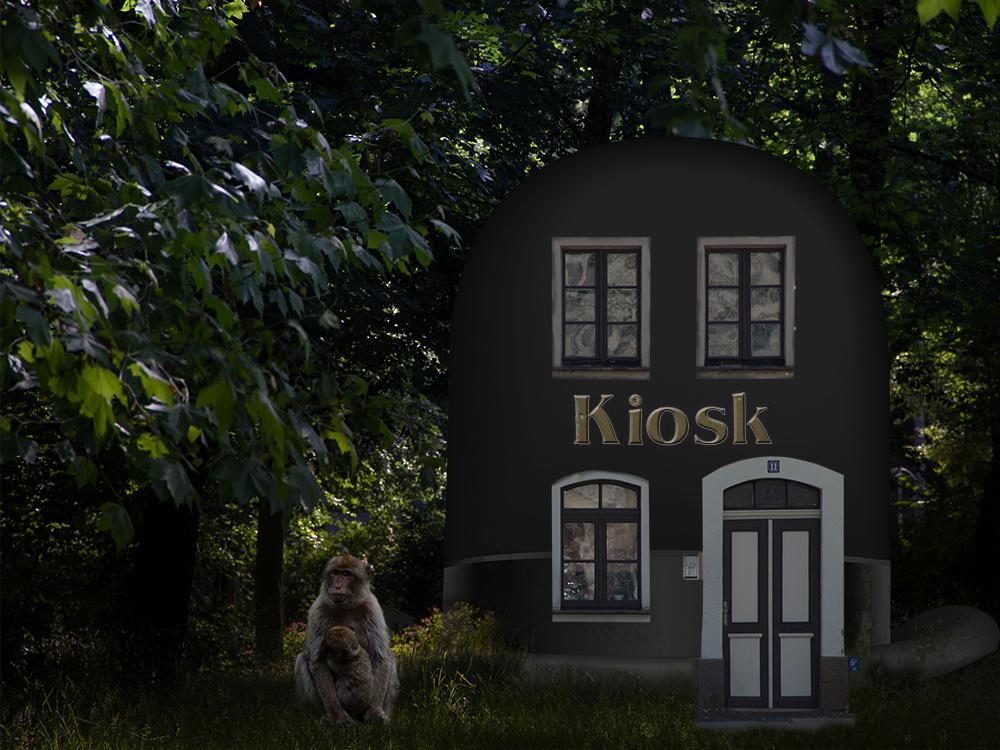 Heute ist nichts los - Kiosk im Stadtpark