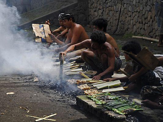 Heute kochen die Männer