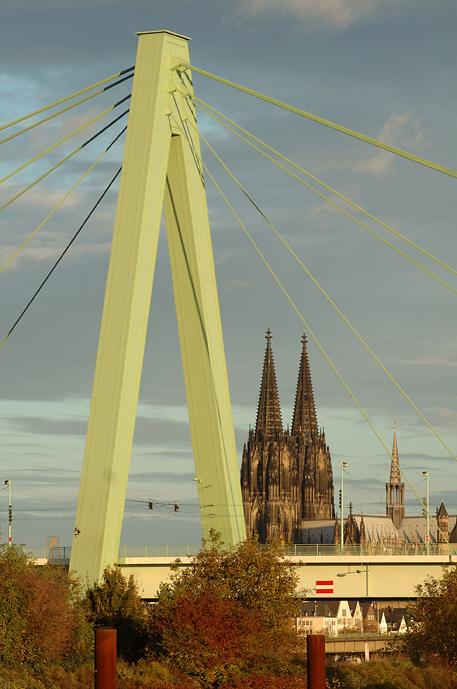 Heute morgen an der Drehbrücke
