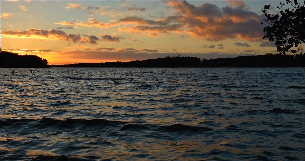 Heute Nachmittag am See