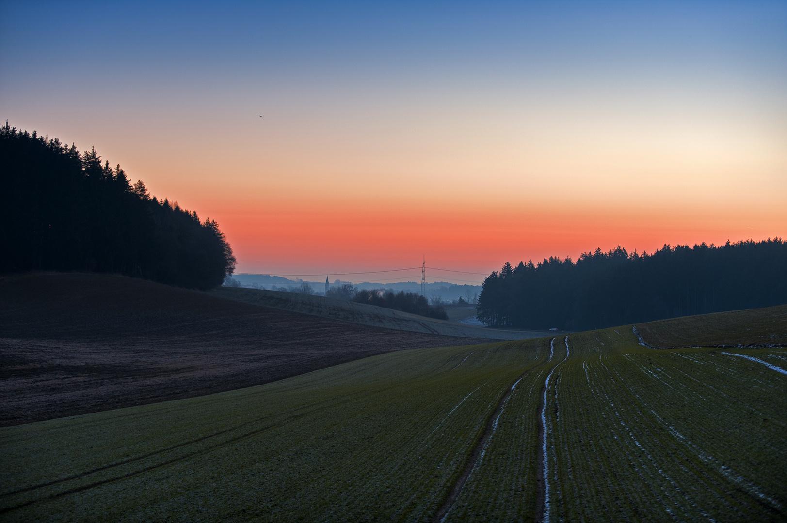 Heute um 06.54 - Oberzell bei Friedberg
