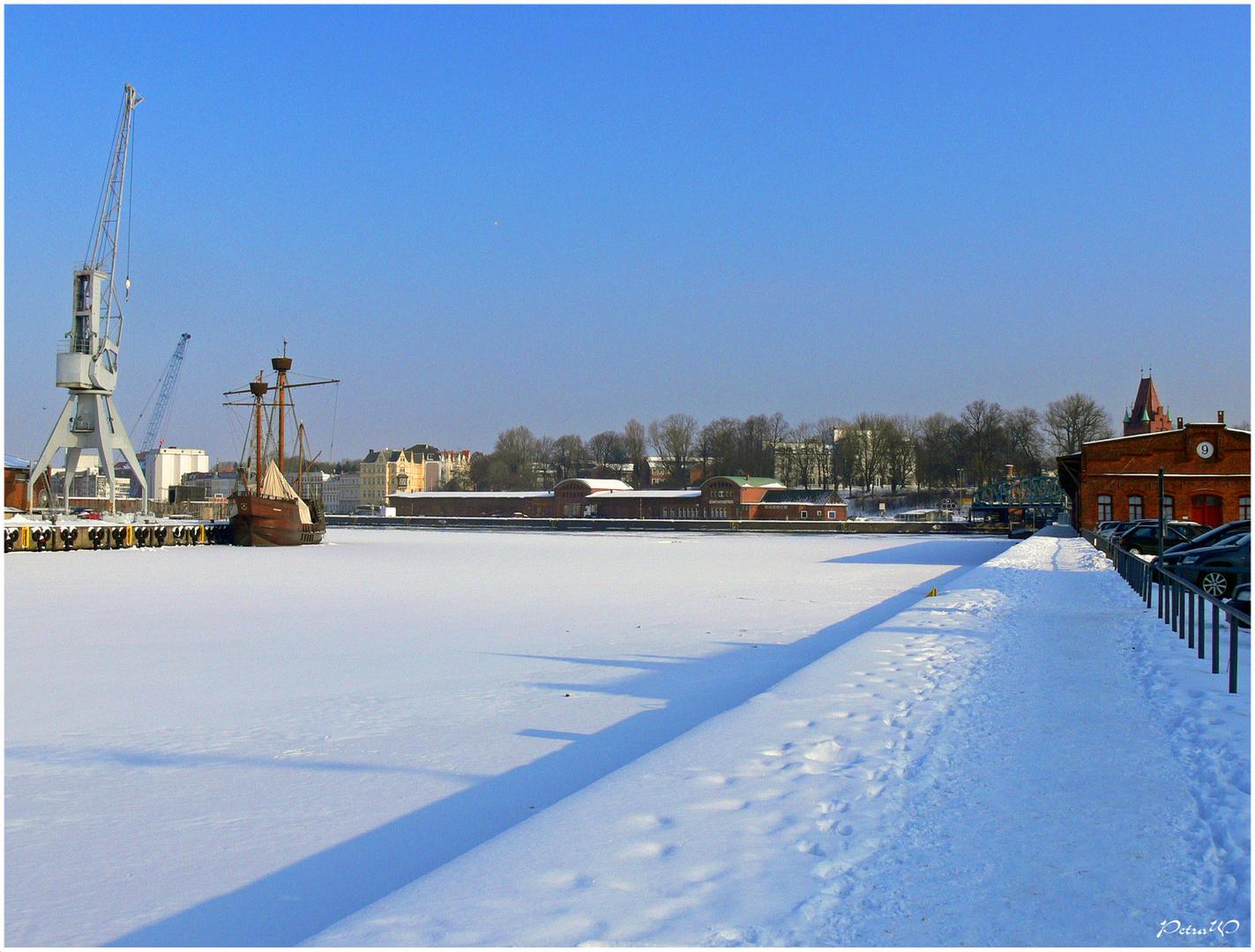 Heute vor 3 Jahren - 2010 - war auch noch Winter