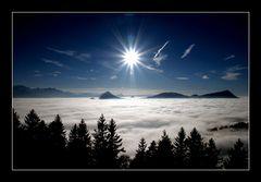 Heute wird es schön um eine Bergtour zu machen ,ich freue mich!!!