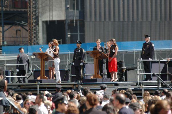 Heutige Trauerfeier WTC