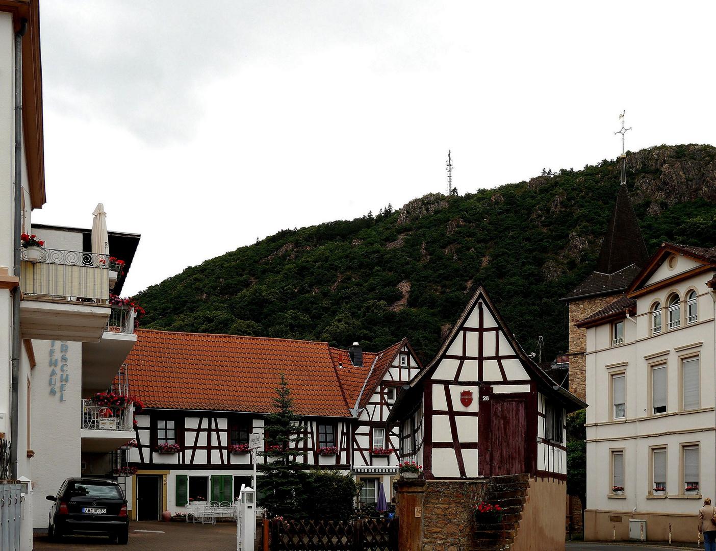 Hexenhäuschen in Bad Münster am Stein.