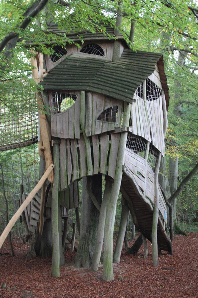 Hexenhaus im Naturpark im Eichsfeld