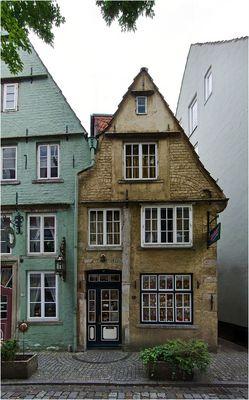 'Hexenhaus' im Schnoorviertel in Bremen