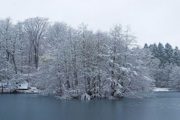 Hexenteich im Winter 2005