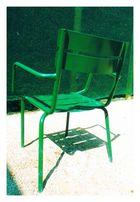 hey, du grüner stuhl...