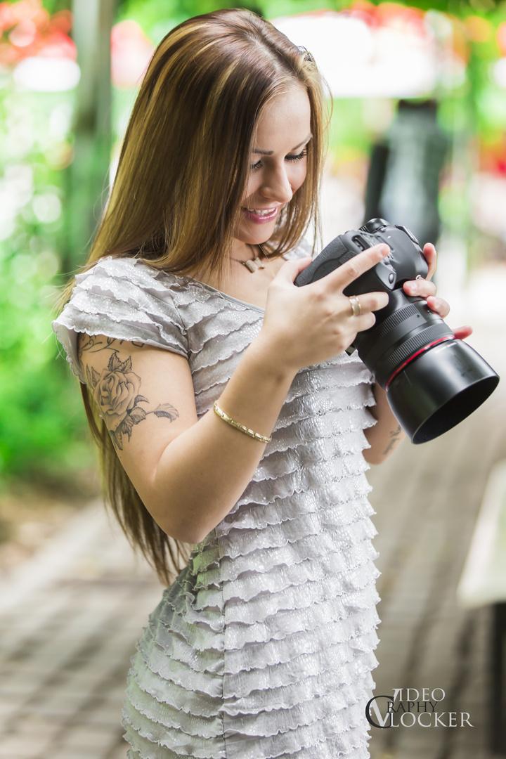 Hey-Fotograf, hasst super Bild geschossen, sagte sie.