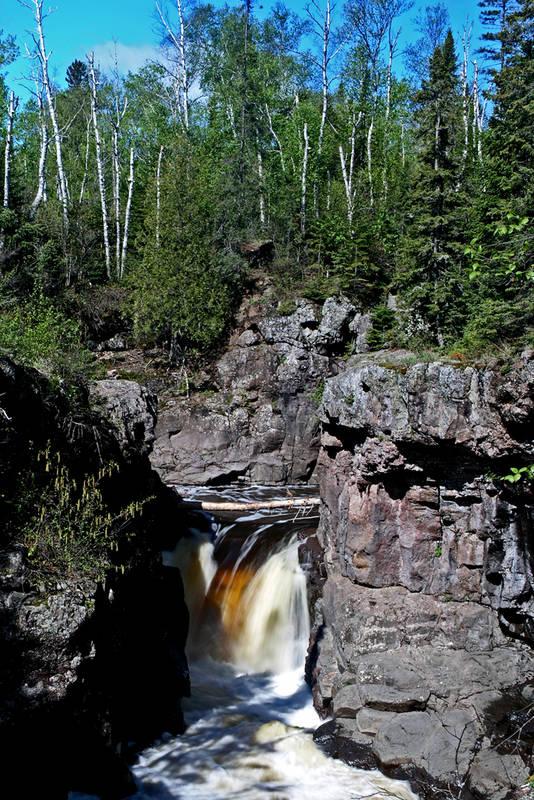 Hidden Falls - Temperance River State Park