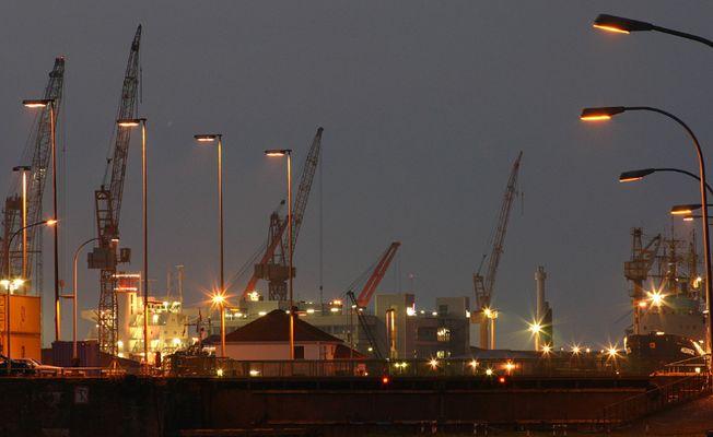 Hier beginnt der Hafen