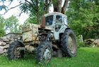 Hier einmal ein russischer Traktor!