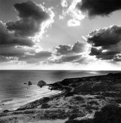Hier entstieg Aphrodite dem Mittelmeer