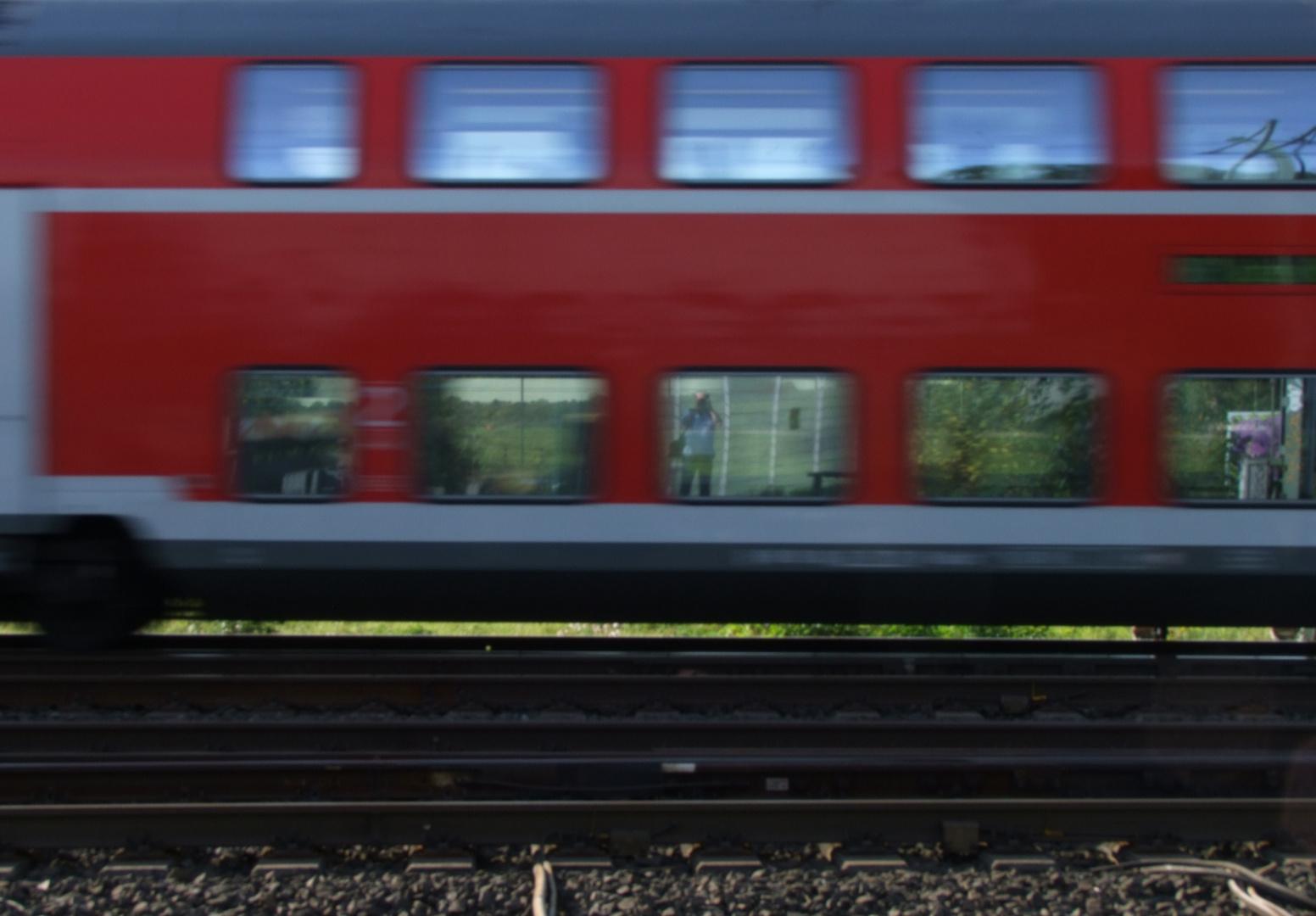 Hier ist der Fotograf am Zug