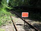 Hier ist die Grenze RAG / Emscherparkbahn