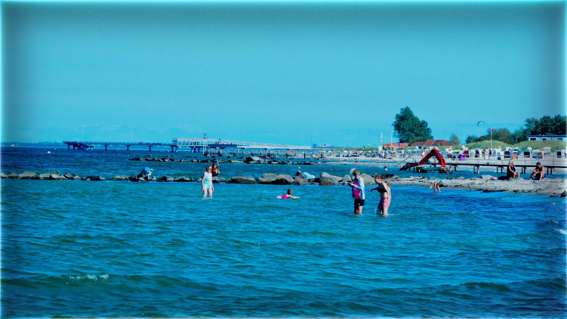 Hier noch ein Foto vom Strand in Heiligenhafen 2