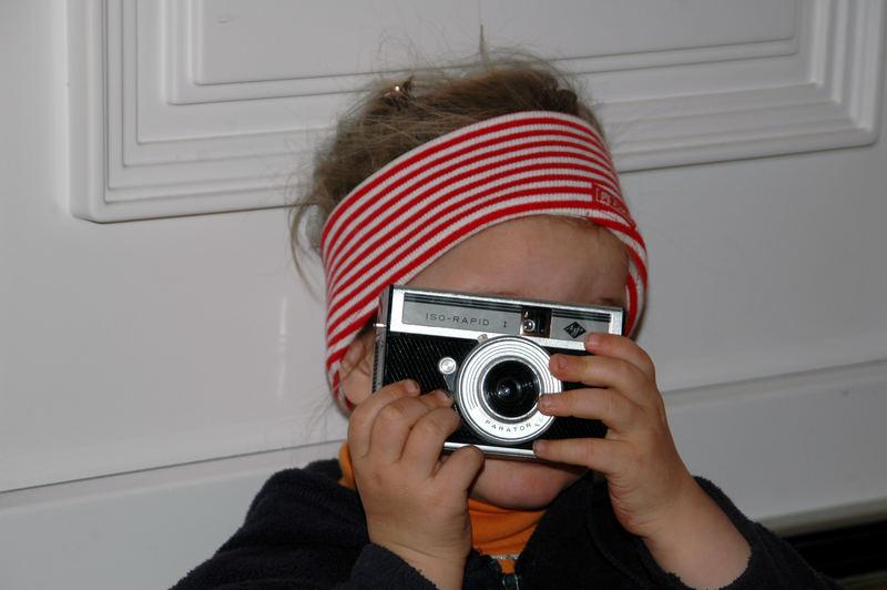 """Hier sieht man, daß """"Fotogene"""" doch vererbt werden können...."""