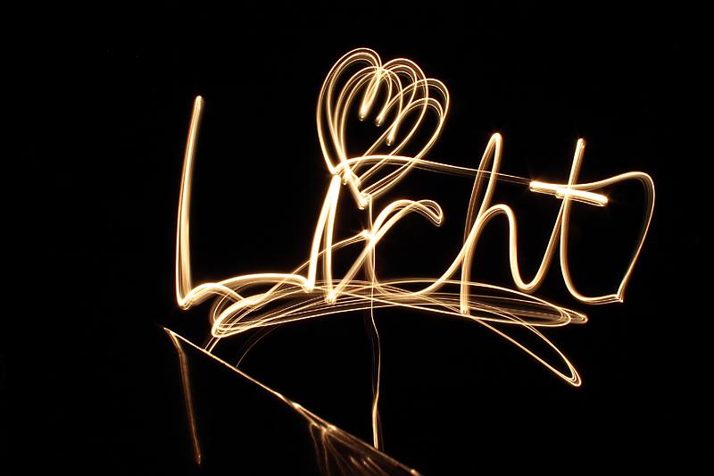 Hier spricht das Licht...