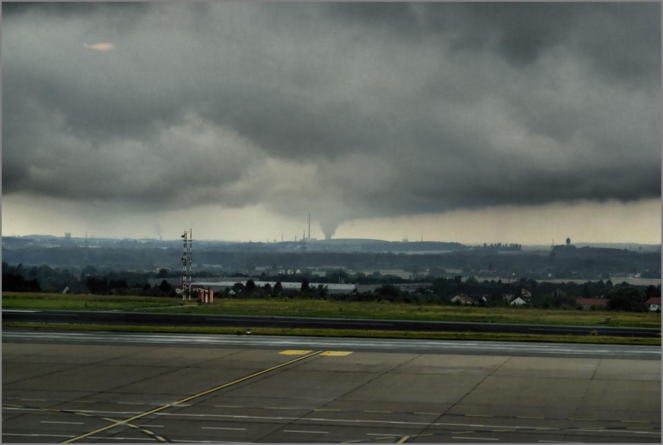 Hier werden also die Regenwolken gemacht...