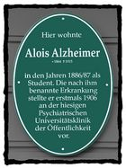Hier wohnte Alois