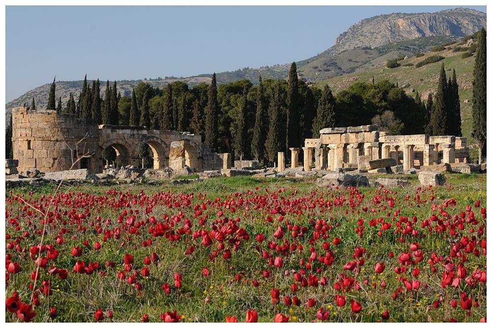 Hierapolis - Pamukkale / Türkei