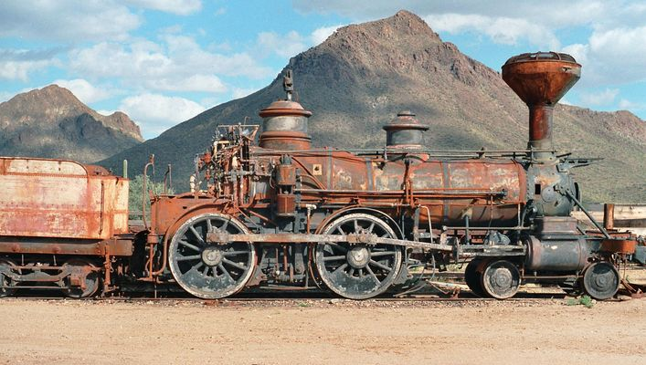 High Chaparral Train, in the old Tucson Studios