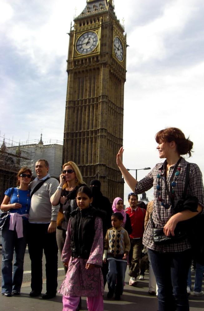 High five, Big Ben !