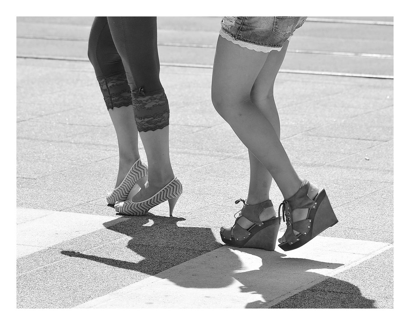 High Heels & Spitzen
