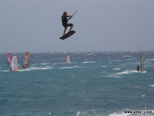 High Jump in Medano