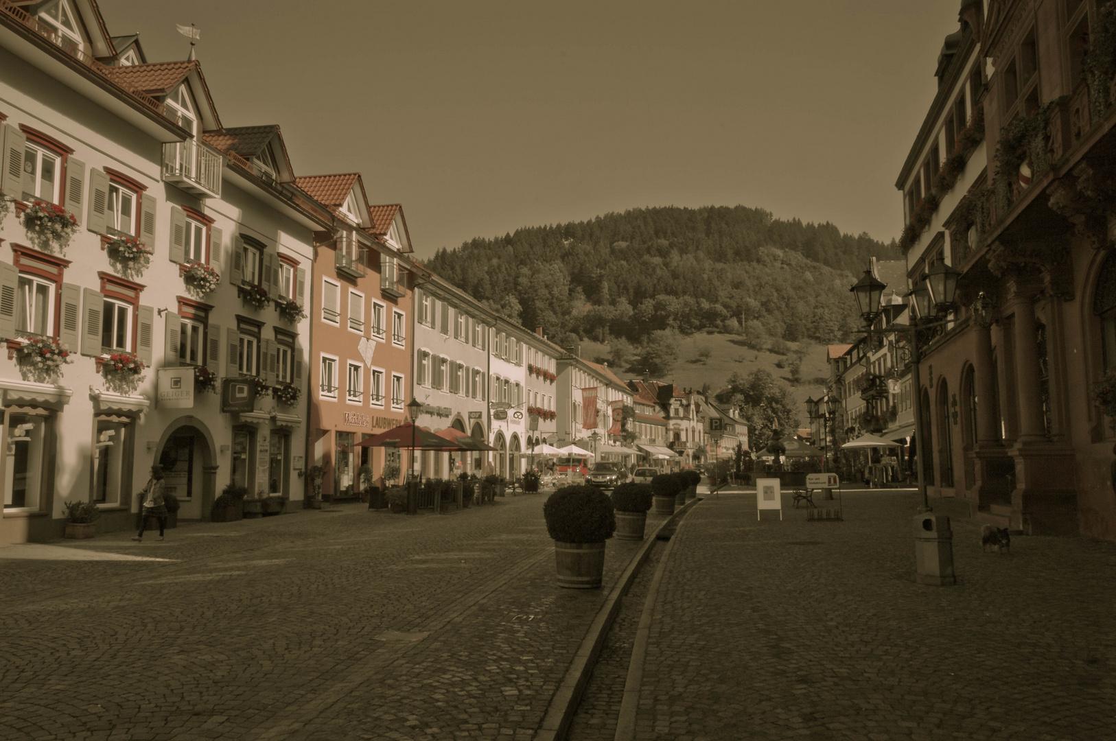 High Noon in Wolfach in de Mainstreet