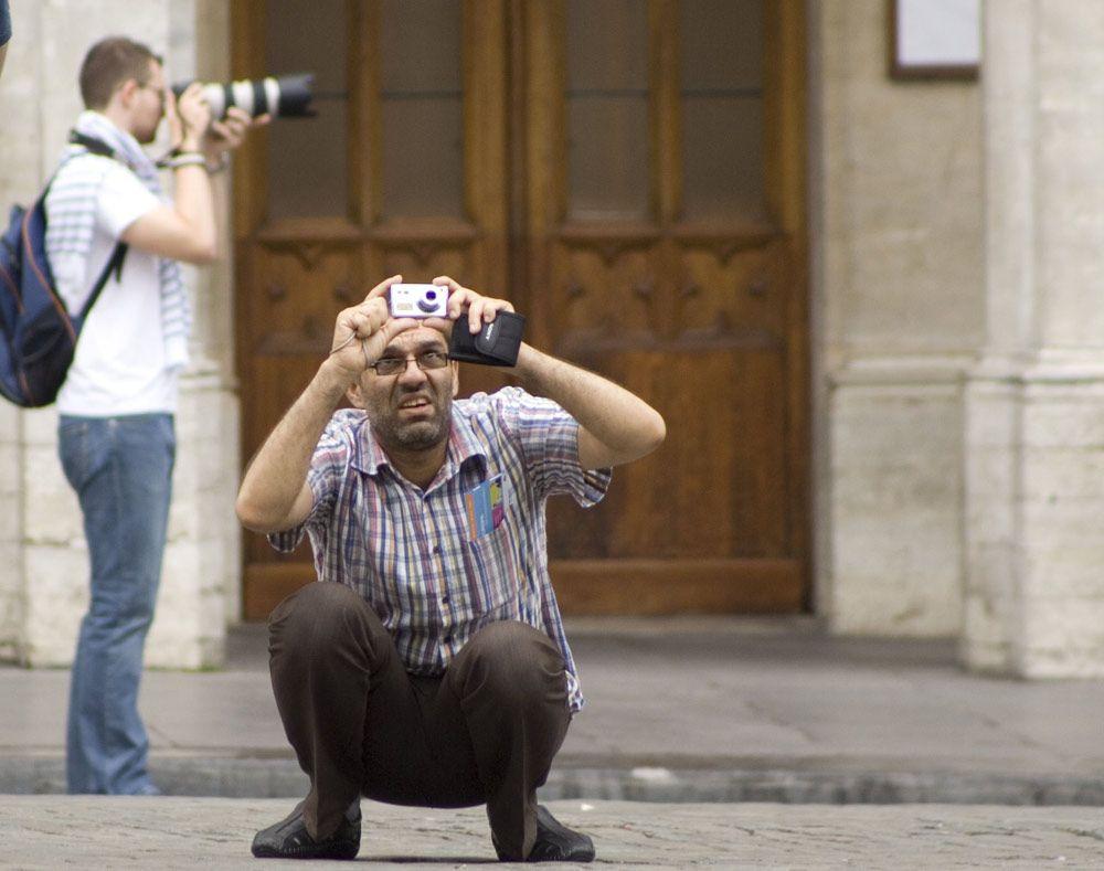 High tech vs. fotografisches Auge