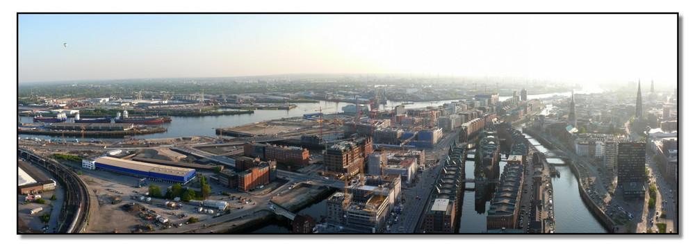 Highflyer Hamburg - Großbaustelle Hafencity