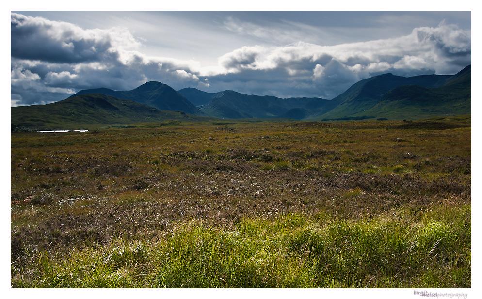Highland-Postkarte