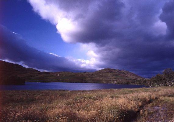 Highlands Gewitterfront